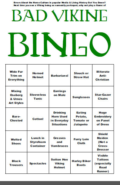 bad viking bingo g